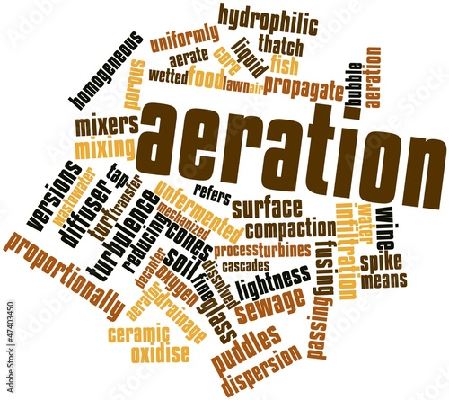 Word cloud for Aeration