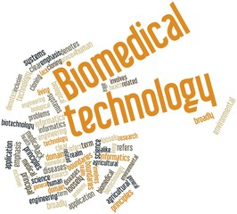 Word cloud for Biomedical technology