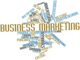 Word cloud for Business marketing