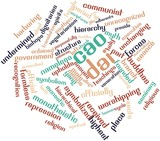 Word cloud for Cao Dai poster