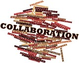 Word cloud for Collaboration poster