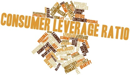 Word cloud for Consumer leverage ratio