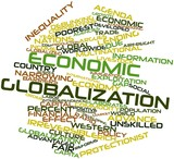 Word cloud for Economic globalization