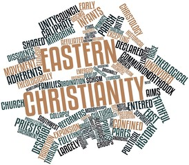 Word cloud for Eastern Christianity