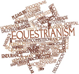 Word cloud for Equestrianism