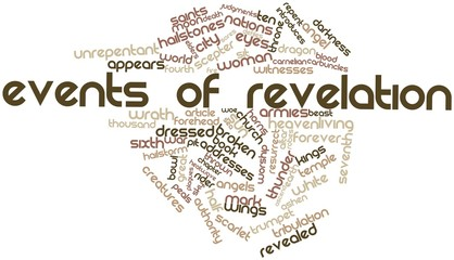 Word cloud for Events of Revelation