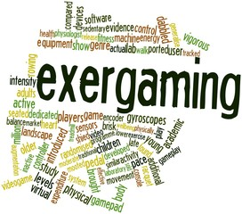 Word cloud for Exergaming