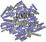 Word cloud for Gender studies