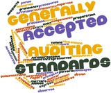Word cloud for Generally Accepted Auditing Standards