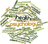 Word cloud for Health psychology