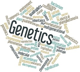 Word cloud for Genetics
