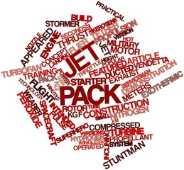 Word cloud for Jet pack