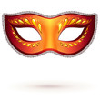 Vector ornate venitian carnival mask