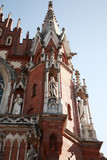 Decorative spire of St Joseph's Church, Krakow