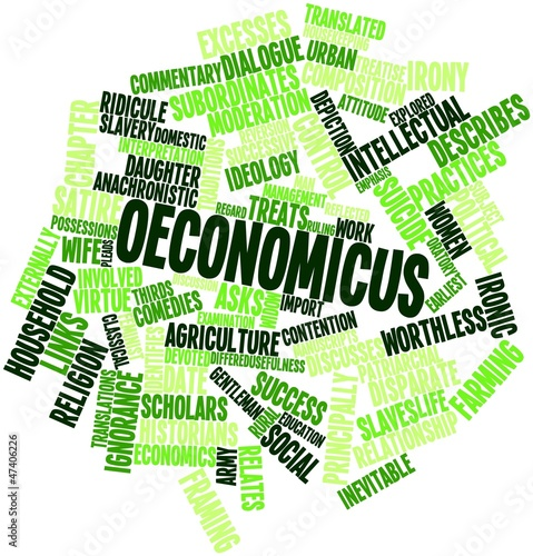 Word cloud for Oeconomicus