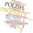 Word cloud for Polish property bubble