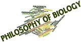 Word cloud for Philosophy of biology poster