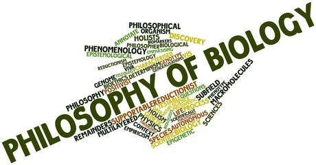 Word cloud for Philosophy of biology