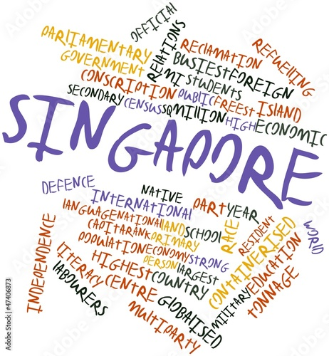 Word cloud for Singapore