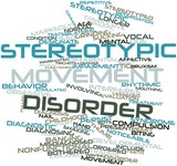 Word cloud for Stereotypic movement disorder poster