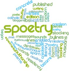 Word cloud for Spoetry