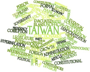 Word cloud for Taiwan