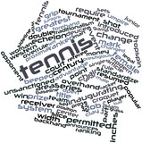 Word cloud for Tennis