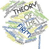 Word cloud for Theory of the firm