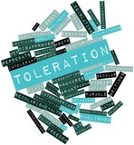 Word cloud for Toleration poster