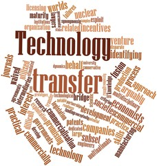 Word cloud for Technology transfer