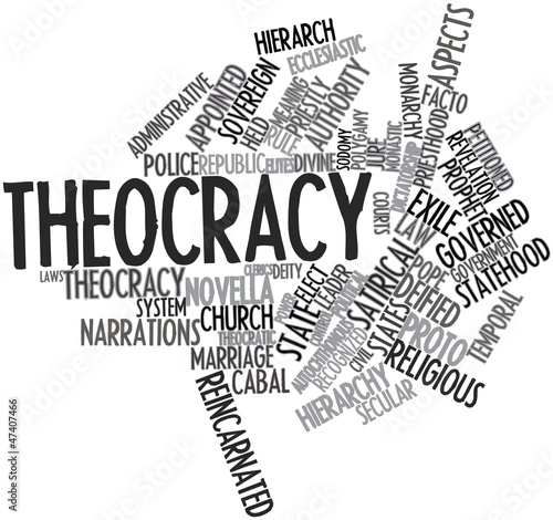 Word cloud for Theocracy