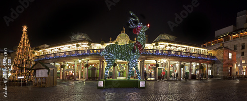 London's Covent Garden at Christmas