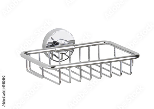 Bathroom aluminum accessory shelf