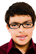 Boy Wearing Eyeglasses