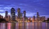 Australia, Brisbane Urban Landscape poster