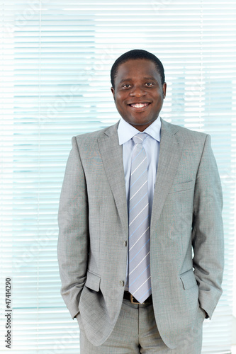 Businessman in suit