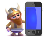 Viking appraises smartphone poster