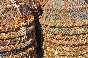 Colorful Crab Traps