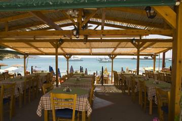 Resturant at Samos