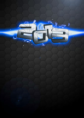 Happy new year 2013 background