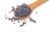 Fototapety wooden spoon with lavender petals