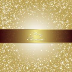 クリスマス・素材・ゴールド