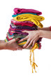 Ironed clothes
