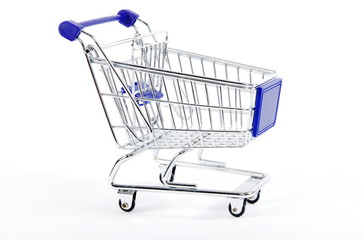 shopping cart isolated