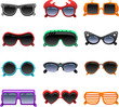 funky sunglasses icons