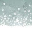 Weiße Weihnachtskarte, Vektor