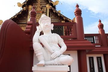 White giant - Ho Kham at Royal Flora Ratchapruek, Chiang Mai