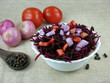 Beetroot, Onion and Tomato Salad