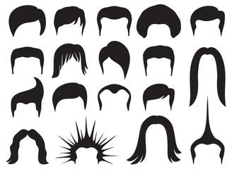 hair style set for men