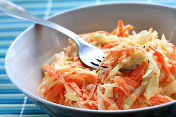 Fresh coleslaw